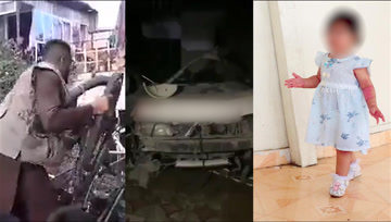 美军空袭喀布尔致9人丧生 多辆车被炸毁