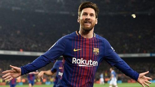 2010-2021西甲过人次数榜单:梅西第一 领先第二名1010次