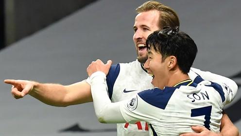 《英超精华》第11轮:北伦敦德比热刺完胜 曼联连续逆转客场9连胜