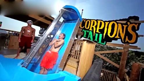世界上最疯狂的8个水上滑梯 感觉自己要血液倒流