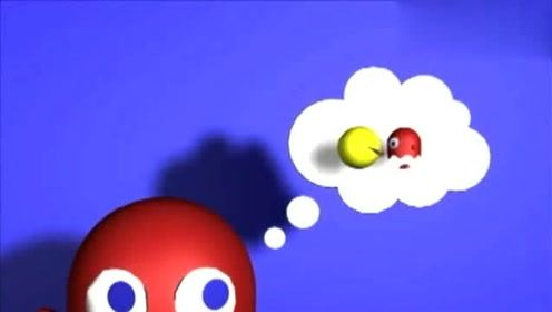 吃豆大作战:红色幽灵复仇记!搞笑动画