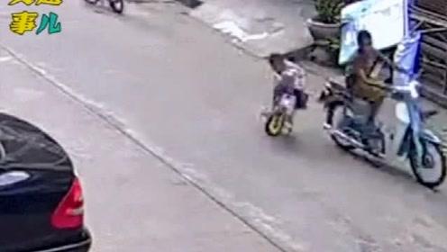 警示 :20個觸目驚心的兒童交通事故合集