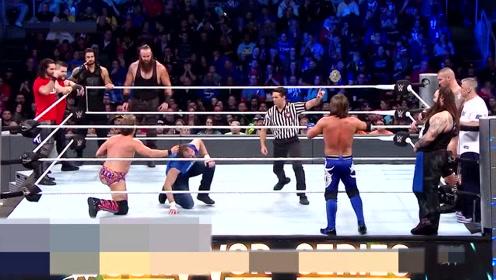 超有趣的摔角比赛,擂台上玩的花样太多,看完觉得太秀了吧