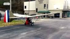 高手在民间,农民大叔自制的飞机,还真能飞上天!