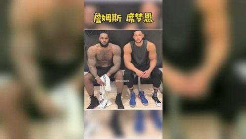 NBA现役肌肉男,大的有点吓人了,你觉得谁最过分?