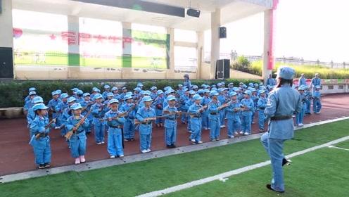 小太阳幼儿园军民大生产亲子活动
