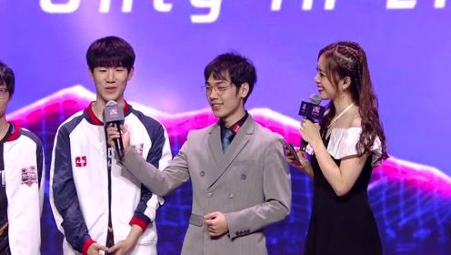 LOL全明星 赛后采访搞笑不断 刘青松被队友疯狂吐