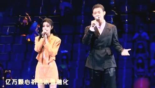 """鞠婧祎和霍尊共同演唱《平凡与伟大》,用音乐致敬""""最美逆行者""""!"""
