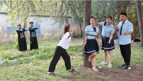 僵尸记12:同学们为了救小楠,不幸落入僵尸的圈