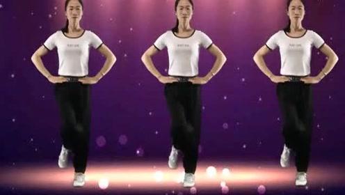 网红最新流行舞曲《神奇抖音》,简单初级弹跳步,看一遍就会了!