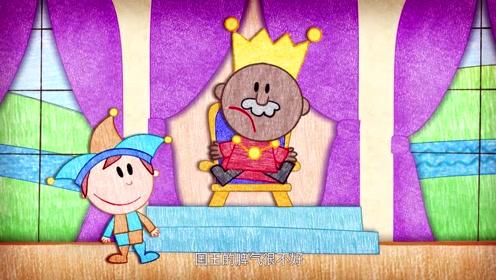 涂鸦宝宝学字母:小丑是全国最搞笑的人,他正
