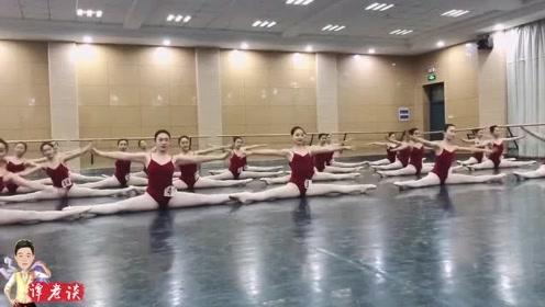 实拍舞蹈系学生古典舞基本功训练,台下的苦练才有了台上的绽放!