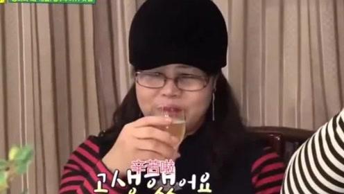 韩综:一群韩国明星到中国饭店吃饭,谁知上来一道凉菜,都不敢夹菜了!
