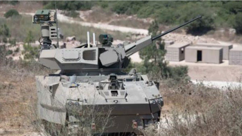 """以色列推出未来坦克原型车""""卡梅尔"""",开车就像打游戏"""