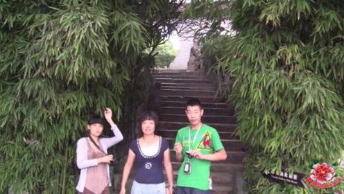 陪着家人一起旅游,游陕西汉中博物馆,看到了汉中市花旱莲