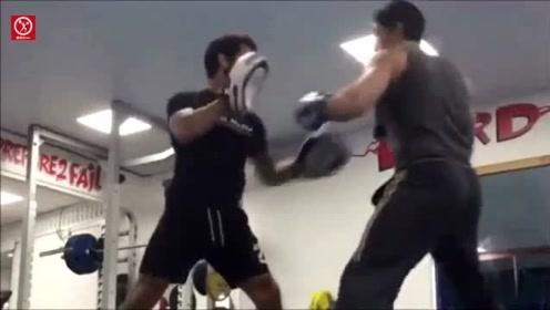 """终极斗士""""博伊卡""""最新训练视频,这腿法那才叫一个厉害"""