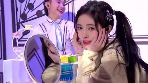 鞠婧祎甜美献唱《恋爱告急》台下粉丝不淡定了!