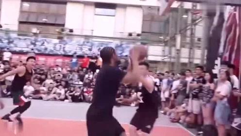 杨政实力征服东单他是最接近CBA的草根街球王