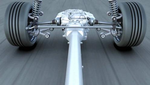 汽车急转弯时,悬架系统是如何工作的?眼见为实!