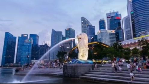 都说新加坡是花园城市,看了航拍视频很震撼,不愧是世界一线城市