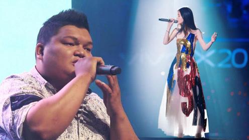 马来西亚素人翻唱《凉凉》,一开口台下都嗨了,还能这样唱?