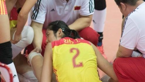 朱婷受伤!意大利女排残酷无情催促比赛继续,中国女排惨遭逆转!