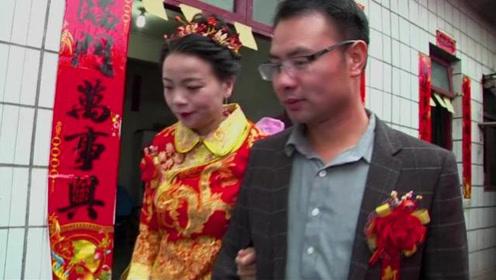 38岁一光棍结婚了,新娘好漂亮,配上这首贵州歌,越听越有味