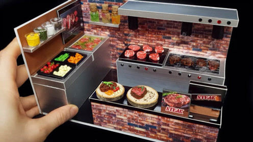 手工制作美食玩具屋