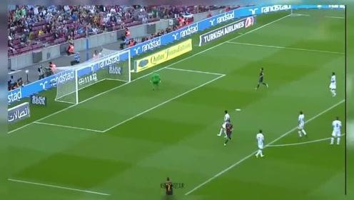 经典足球:巴萨传奇伊涅斯塔西甲五佳球!看他是怎样把足球踢成了艺术