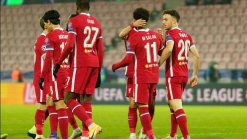 欧冠-萨拉赫55秒闪击凯莱赫送点,利物浦1-1中日德兰头名出线