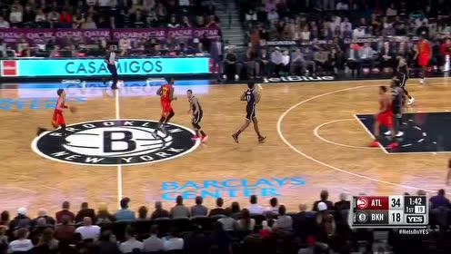 2019年01月10日NBA常规赛 老鹰VS篮网 全场录像回放视频