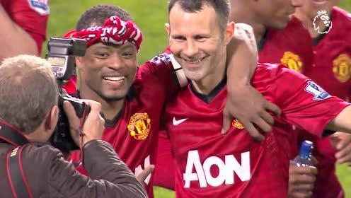 6年前的今天范佩西帽子戏法 曼联提前4轮锁定英超冠军