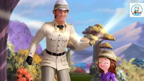 小公主苏菲亚:所有的父女同乐游戏苏菲亚都不会,不是亲生不会玩