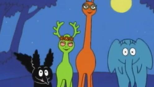 巴巴爸爸:巴巴一家变成了5种动物,你还认识他们吗?