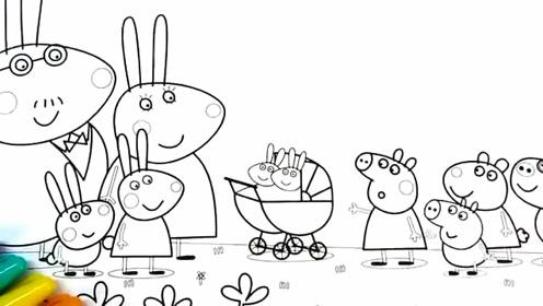 小兔子的简笔画