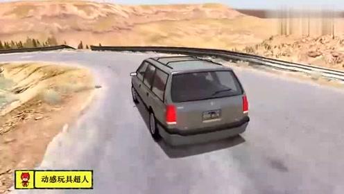 热门单机游戏,模拟撞车摔车视频精彩剪辑62