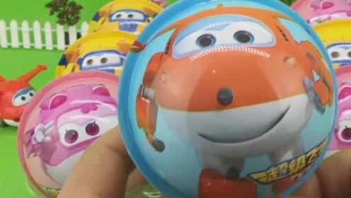 儿童趣味玩具,超级飞侠乐迪带来了好多奇趣蛋
