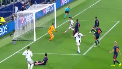 尤文1-0巴伦西亚,提前出线,C罗助攻曼朱破门