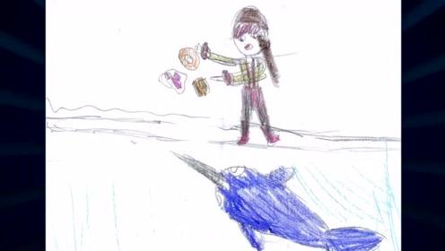 动漫搞笑音乐:《独角鲸吃百吉饼》,卡通恶搞视频!