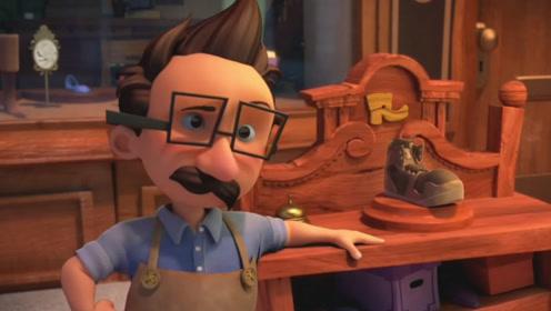 老鞋匠一夜才做的鞋,小伙看一眼高仿无数双!一部创意讽刺动画