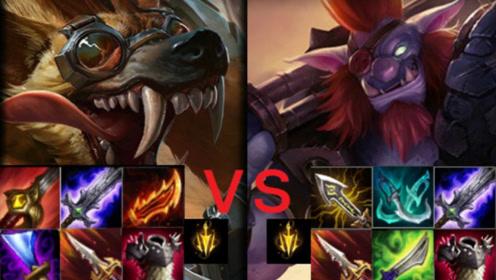 【LOL六神单挑】狼人vs巨魔 两个攻速超高的英雄