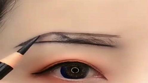 新手画眉毛,注意小细节,画好很简单!