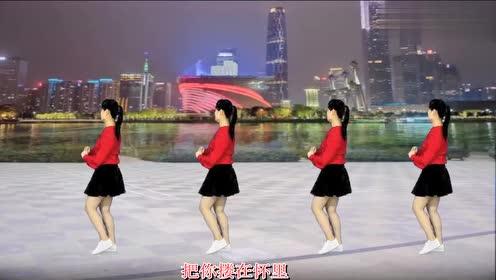 32步广场舞《闯码头》旋律动感大气,跟着音乐舞