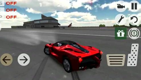 超凡极速赛车:身经百战的超级跑车红色法拉利拉法实在太强悍?