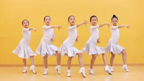 少儿拉丁舞《护花使者》,活力满满!