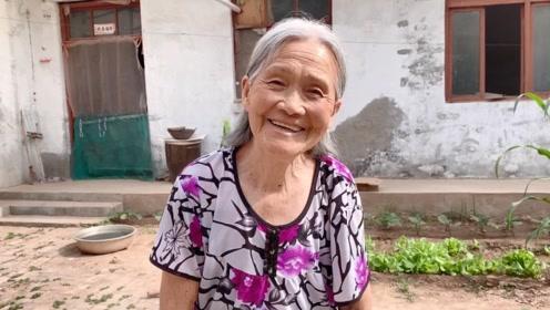 84岁**独院生活,一天两顿饭,身体倍儿棒!看