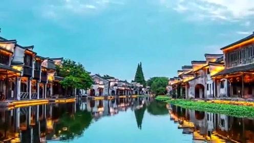 古桥、水巷、古宅,周庄古镇是真实意义上的小桥流水人家!大自然的风景真美