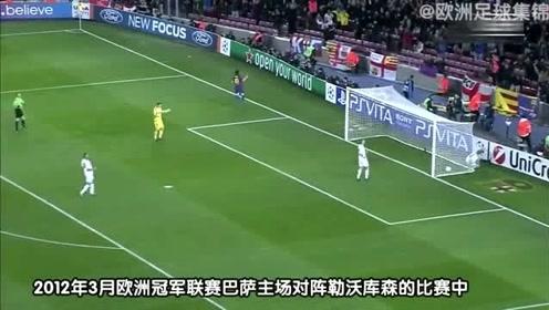 传奇注定不平凡!梅西成为了欧冠改制后首位单场打进5球的球员