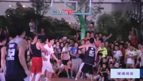 中国也有顶级街球高手,这水平如何能不能打CBA,大家来看下