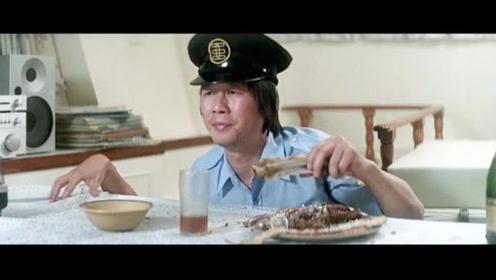 """""""文才""""一看到美女就想入非非,啥事都忘了,吃饭这段太搞笑了"""